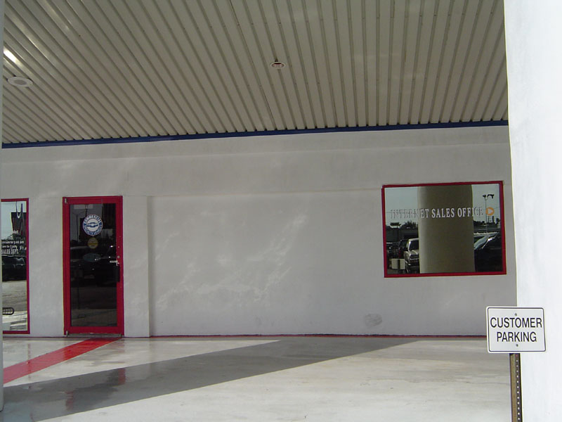 Commercial Exterior Washing Auto Dealership Clearwater After