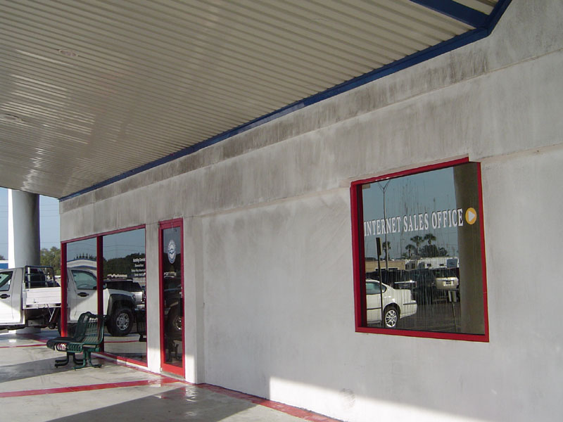 Commercial Exterior Washing Auto Dealership Clearwater Before