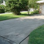 Concrete Driveway Cleaning Belleair Florida Before