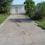 Concrete Driveway Cleaning Washing Clearwater Florida Before