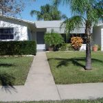 Concrete Walk Pressure Wash St. Petersburg Florida After