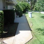 Concrete Walkway Cleaning Seminole Florida After