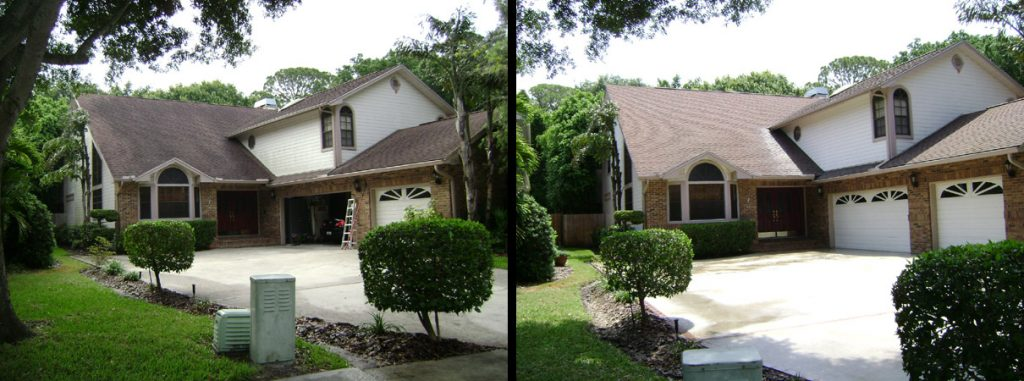 Largo Florida Shingle Roof Cleaning