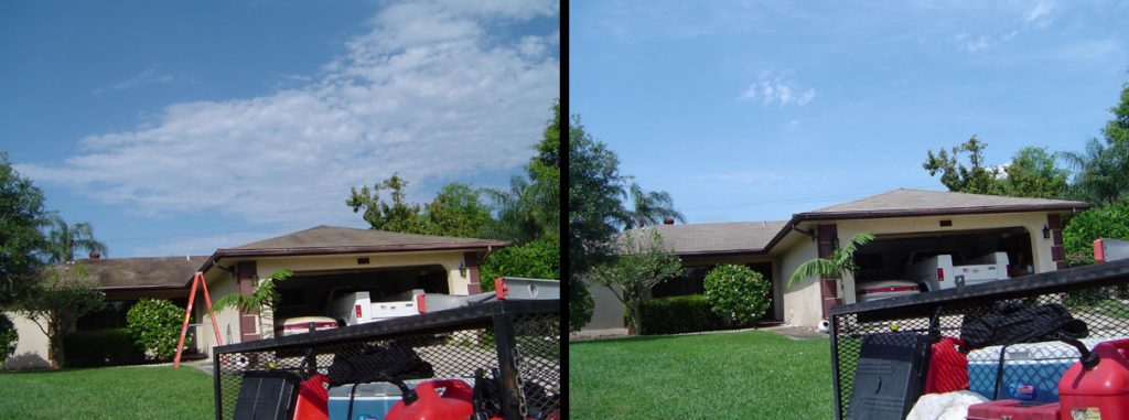 Non-Pressure Shingle Roof Cleaning Countryside Florida