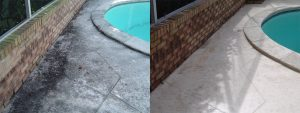 Pool Deck and Pool Enclosure Cleaning