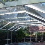 Pool Enclosure Cleaning St. Petersburg, FL Before