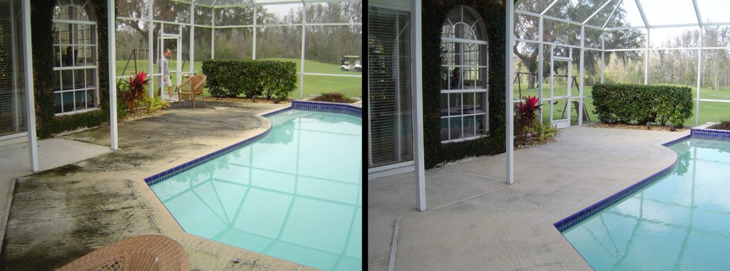 Pressure Washing Pool Decks Palm Harbor, FL