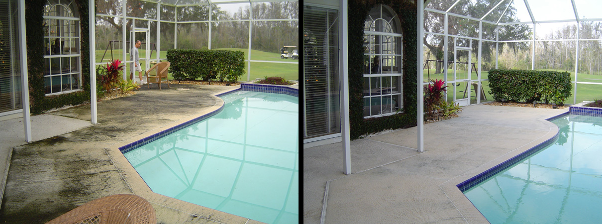 All Surface Pressure Cleaning Pool Deck Cleaning