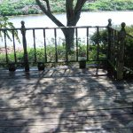 Safe Non Pressure Wood Deck Cleaning Largo Florida Before