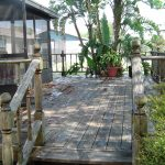 Safe Wood Deck Cleaning Largo Florida Before