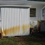 Sulfur Rust Stain Removal Pinellas Florida Before