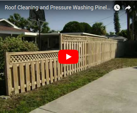 YouTube - Roof Cleaning and Pressure Washing Pinellas County Florida!